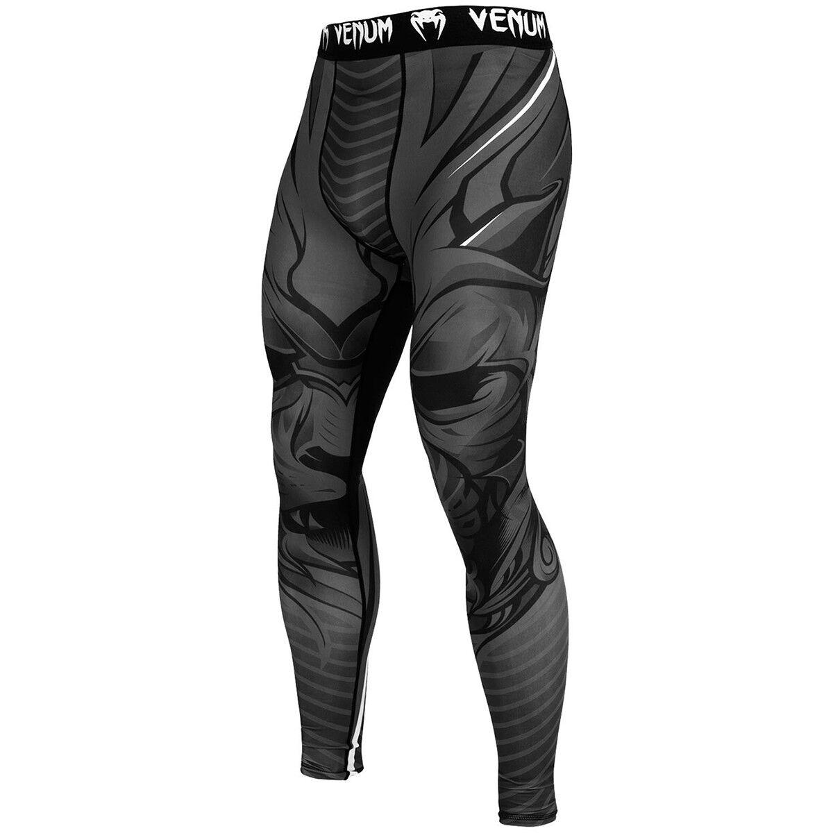 Venum Bloody Roar durable seco Tech MMA  Compresión Polainas-gris  buen precio