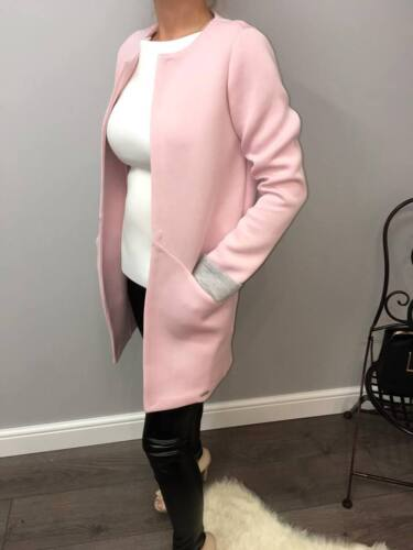 366 High Quality Blazer by FASHION BY DUDA in Light Pink or Light Blue