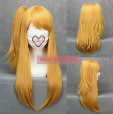 Popular Fairy Tail Lucy Heartfilia Anime Cosplay Costume hair wig with wig cap