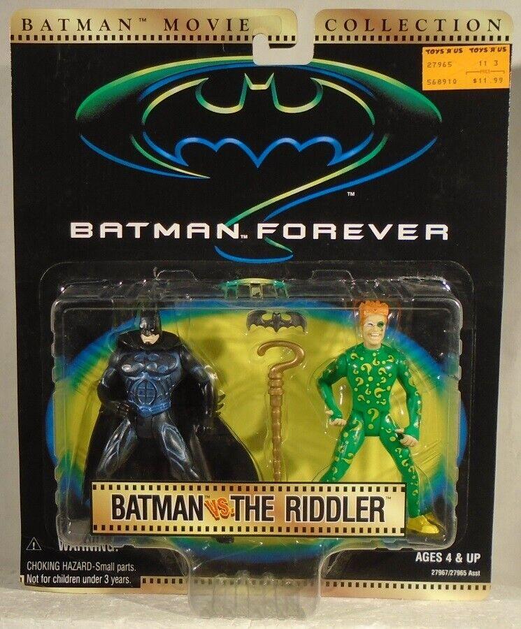 Batman Kenner Kenner Kenner Movie Collection - Forever Batman Vs The Riddler Carrey Kilmer MOC 124366