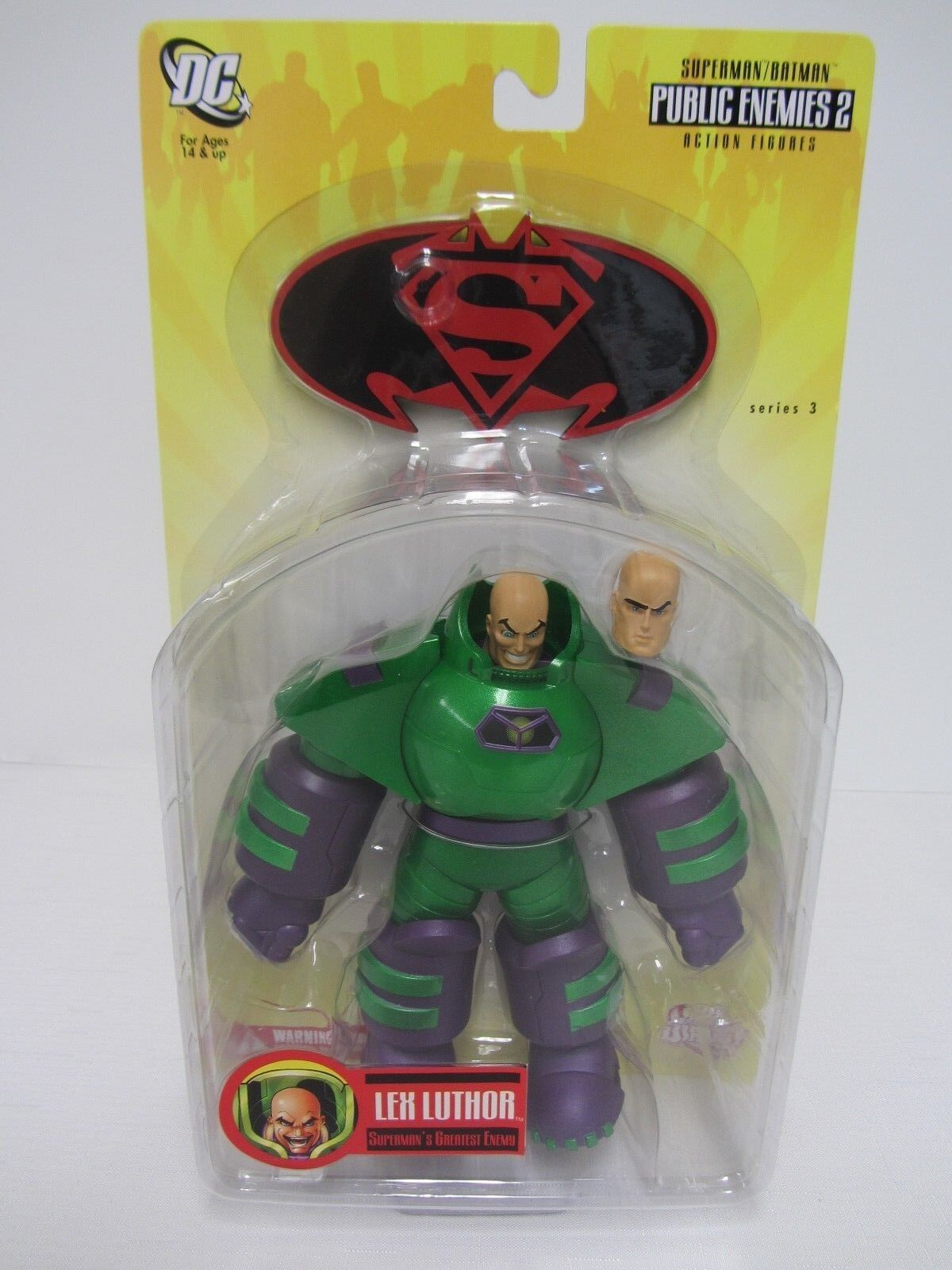 Lex Luthor Superman Batman Supermans Greatest Enemy NIB