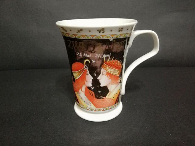 Dunoon Astrology Fine Bone China Coffee Mug Gemini Zodiac By Ruth Beck England Ebay