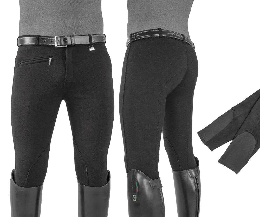 EQUESTRO Pantaloni Pantaloni Pantaloni uomo modello Urano cotone elasticizzato a6d99d