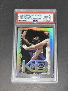 1998 Collector's Edge Impulse KB8 PSA 10 POP 1 Kobe Bryant Ridiculously Rare!!!