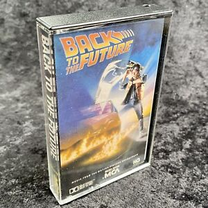 Back To The Future Music Motion Picture Soundtrack Cassette MCA 1985 MCAC 39300