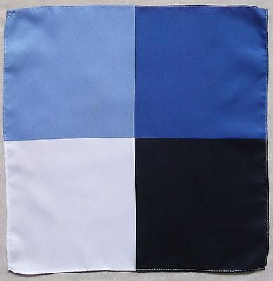 Handkerchief MENS Hankie Top Pocket Square NEW Four Colour Design