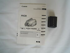 CANON HV20 BP 2L13 BATTERY PACK WITH HV20 MANUAL
