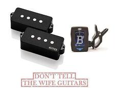 EMG GZR P HZ Geezer Butler P Bass Passive (FREE TUNER) Fender Replacement PHZ