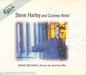 STEVE-HARLEY-AND-COCKNEY-REBEL-Make-Me-Smile-UK-4-Tk-1995-CD-Single
