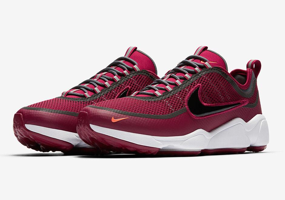2018 Nike Zoom Spiridon SPRDN SZ 8 Team Red White Black LAB PRM QS