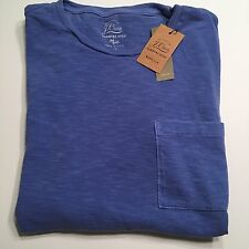 J.Crew Garment-Dyed T-Shirt Men's Size Small Blue NWT