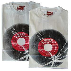 T-shirt-Maglia-Maniche-Corte-Hamond-MERC-London-100-Cotone-Uomo-Men-Azzurro-Lig