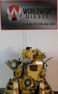 2000-CAT-3126-Diesel-Engine-Take-Out-190HP-Good-For-Rebuild-Only