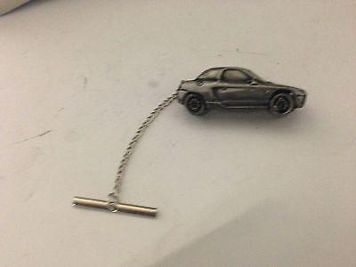 Saab 96 3D pin badge car pewter effect pin badge ref216