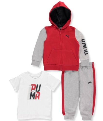 Puma Baby Boys/' 3-Piece Outfit 12-24 months fierce red