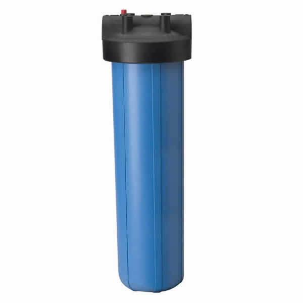 4 Pcs Big bleu Housing Réservoir avec 1  National Pipe Conique avec pr utilisé pour 4.5  X 20  Filtres