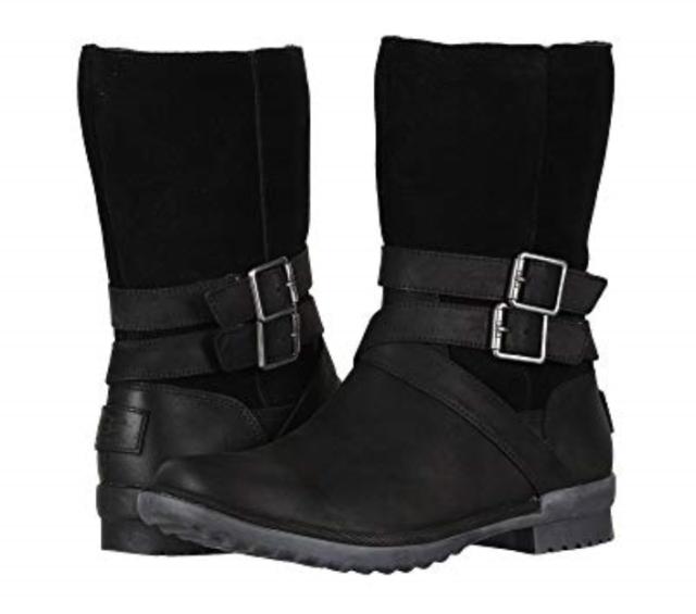 6c2c69d553c UGG Australia Lorna Mid Calf BOOTS 025 Black 9.5 US