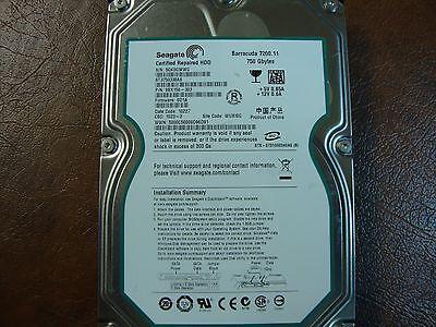 ST3750330AS WUXISG 5QK PN 9BX156-303 FW SD15 Seagate 750GB SATA 3.5 Hard Dr