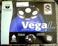 Treasure Garden Rechargeable Vega L Umbrella Light