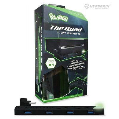 """Xbox One """"The Quad"""" 4-Port USB 3.0 Hub - Polygon X1"""