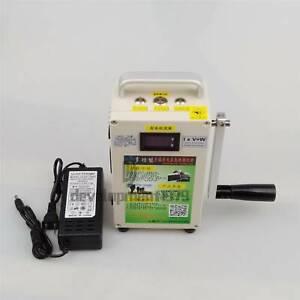 Portable Hand Crank Generator 220V New Car Emergency start phone Charger