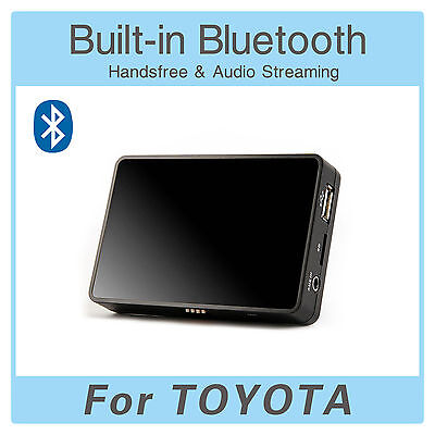 YT-BTA Bluetooth Adapter AUX passend für TOYOTA Picnic Prius Yaris RAV4 Corolla