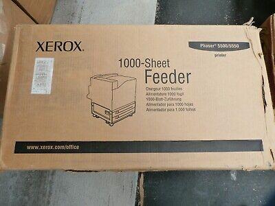 Xerox 1000-Sheet 2-Drawer Feeder Trays Printer Stand Phaser 5500 5550 097S03716