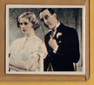 1934-Godfrey-Phillips-Shots-From-The-Films-20-Ralph-Lynn-amp-Dorothy-Hyson-NM