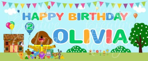 Hey Duggee Birthday Party Clubhouse Banner