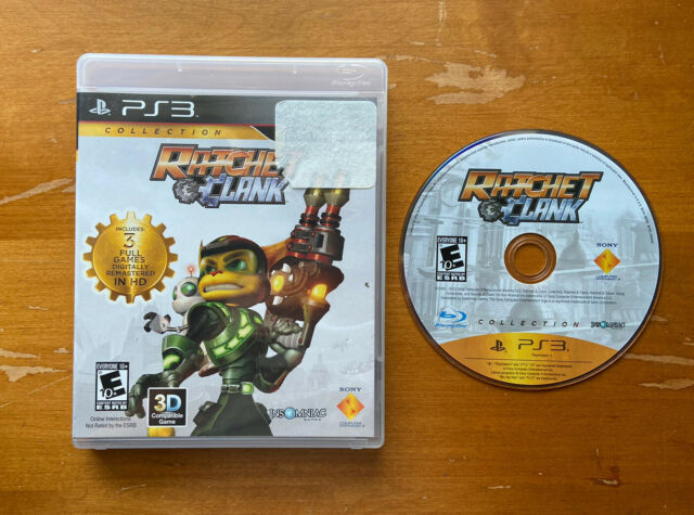 Ratchet & Clank Collection (Sony PlayStation 3, 2012) Good Condition Tested