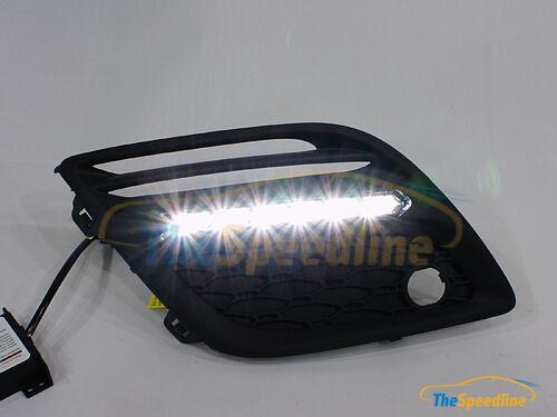 08 09 10 12 13 VOLVO XC60 LED DRL Daytime Runing Light W// fog lamp cover XC 60