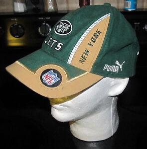 NFL Football Puma Pro Line Authentic Baseball Cap Hat New York Jets ... baee8d709ba2