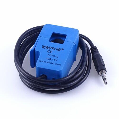 SCT-013 Stromsensor AC Wechselstrom Messwandler bis 30A nicht invasiv Arduino