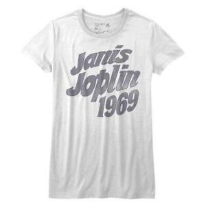 Janis Joplin 60 S 70 S Classic Rock Star Singer Woodstock Juniors T Shirt 3 Ebay