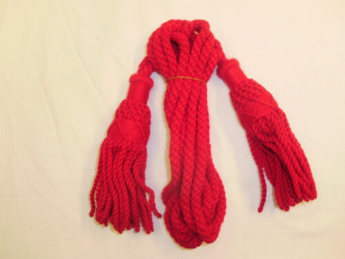 Red Wool Cords