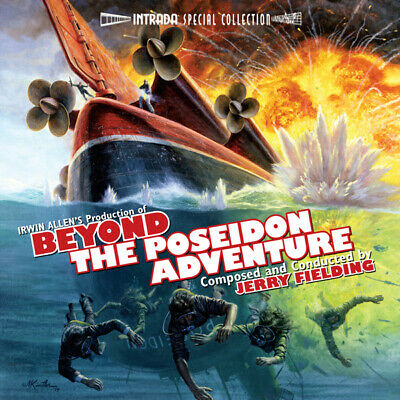 Beyond The Poseidon Adventure Jerry Fielding Limited Intrada Release Sealed Oop Ebay