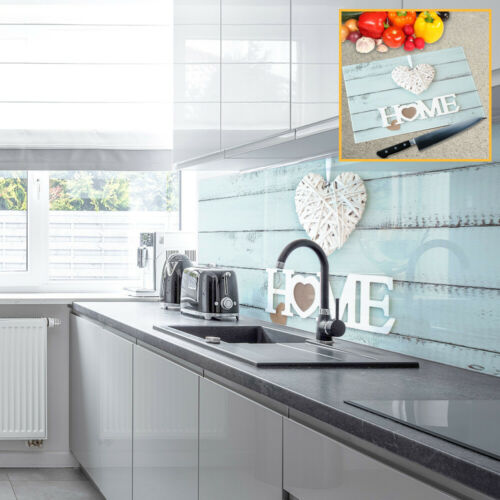 Premier Range Acrylic Splashbacks Home Is Where The Heart Is and Accessories