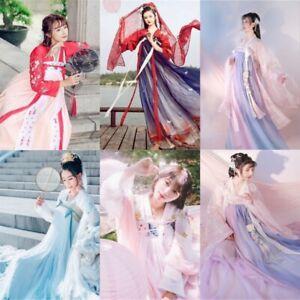 Lolita-Chinese-Ancient-Ruqun-Hanfu-Fancy-Long-Robe-Dress-Fairy-Cosplay-Costume