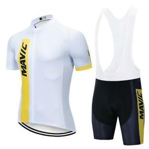 KJX5403 Road New Men Team Racing Cycling sport Short Sleeve Jersey bib Shorts