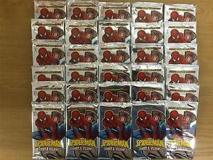 Spiderman-Heroes-And-Villains-Factory-Sealed-Packet-x30