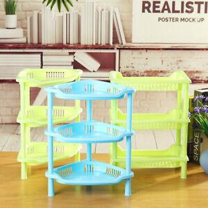 3-Tier-Shelf-Plastic-Corner-Rack-Organizer-Bathroom-Caddy-Kitchen-Storage-Holder