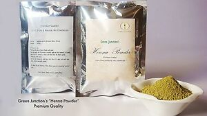 Green-Junction-039-s-Fresh-Leaves-Henna-Powder-200gms-double-layer-packing