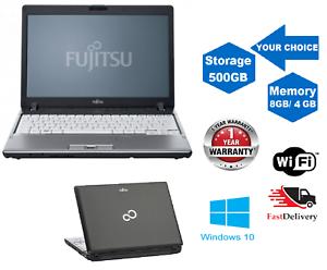 A-Buon-Mercato-Veloce-Laptop-Fujitsu-Core-i3-12-5-034-8GB-RAM-500GB-HDD-Windows-10-WIFI