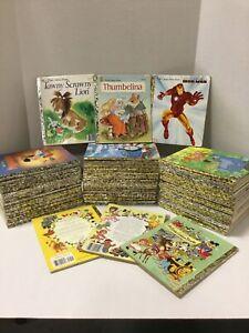 Lot of 20 Random Little Golden Books Disney, Christian, Modern & Vintage
