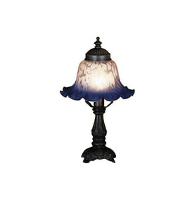 Meyda Tiffany 17507 Stained Glass / Tiffany Accent Table Lamp - MultiColor
