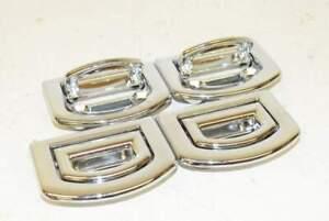 Audi-A6-4G-15-Occhielli-per-tronchi-Lashing-Occhi-per-ciglia-SET-4-pezzi-cromo