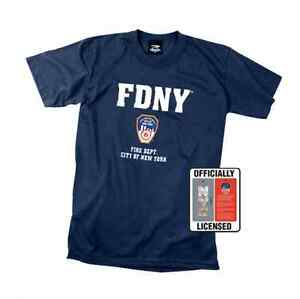 Officially-Licensed-FDNY-T-Shirt-Navy-Blue-Tee-Shirt