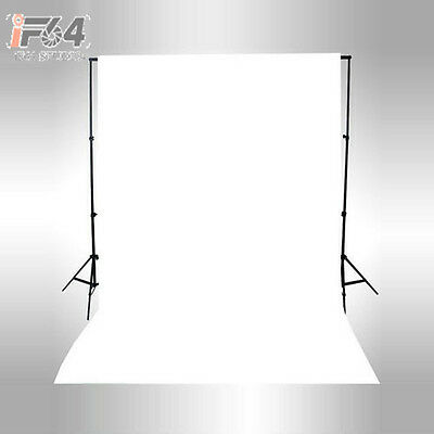 NEW 10×10ft / 3×3M Solid White Seamless Muslin Photography Backdrop Background