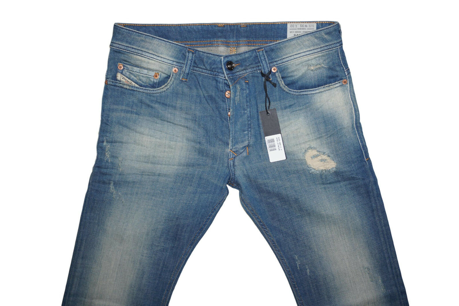 DIESEL SAFADO 0854V SLIM STRAIGHT JEANS W33 L32 100% AUTHENTIC