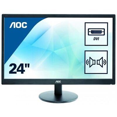 """AOC E2470swda  EEK A+ 59.9 cm (23.6"""") 1920 x 1080 Full HD LED (Monitor)"""